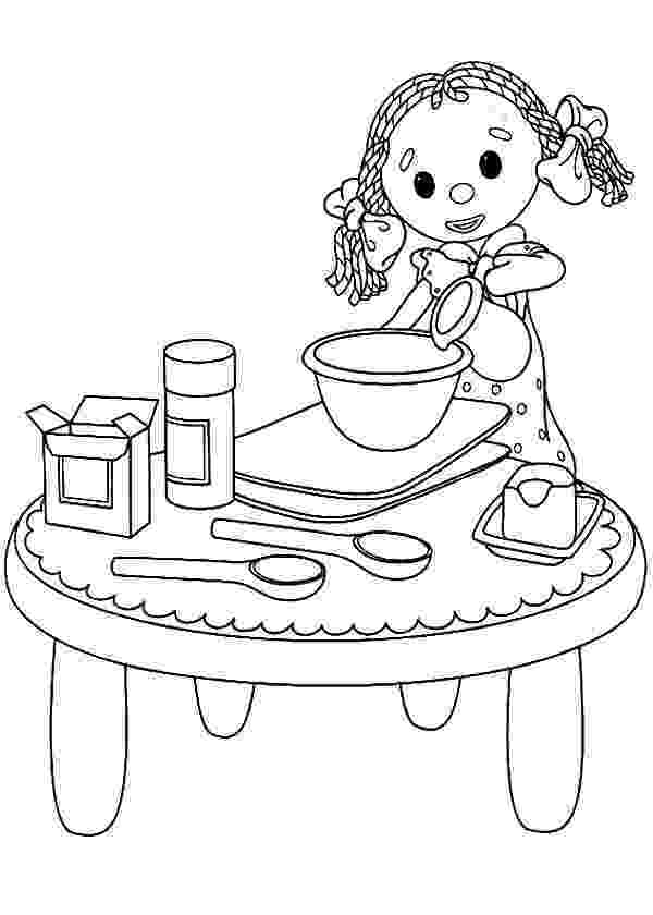 baking coloring pages little girl play baking cookies coloring pages best coloring baking pages