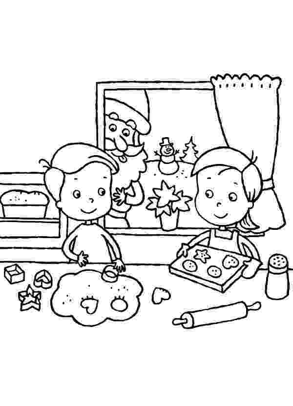 baking coloring pages two kids baking cookies together coloring pages best baking coloring pages