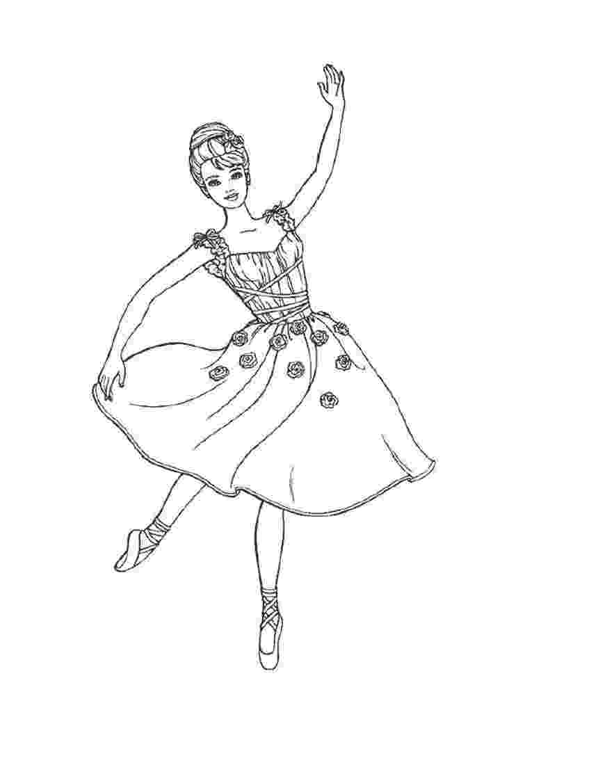 ballerina coloring pictures dance coloring pages getcoloringpagescom pictures coloring ballerina
