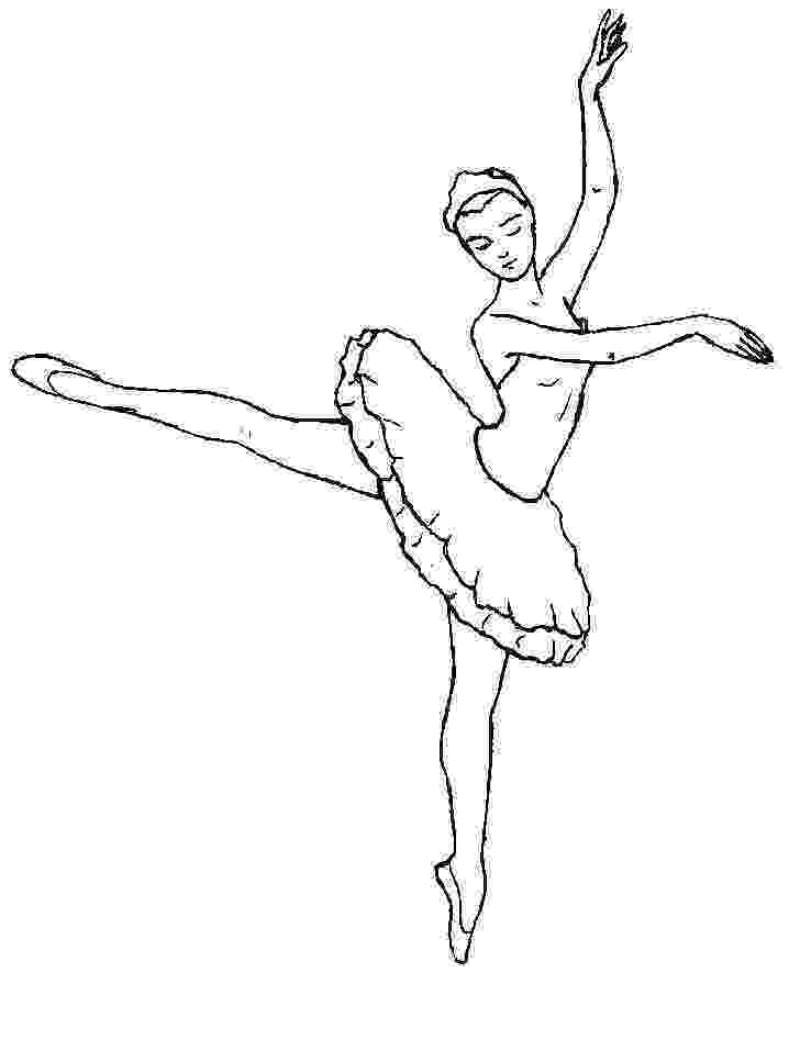 ballerina coloring pictures free printable ballet coloring pages for kids ballerina pictures coloring