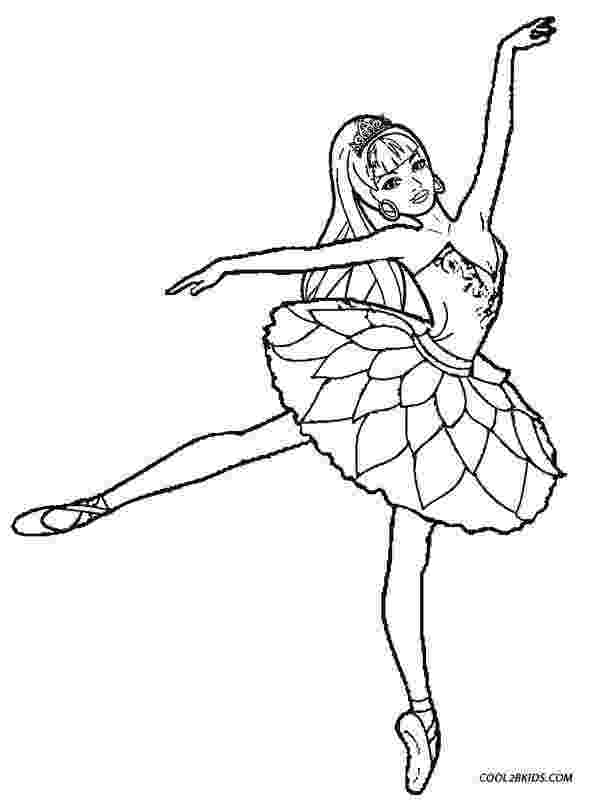 ballerina coloring pictures printable ballet coloring pages for kids cool2bkids ballerina coloring pictures