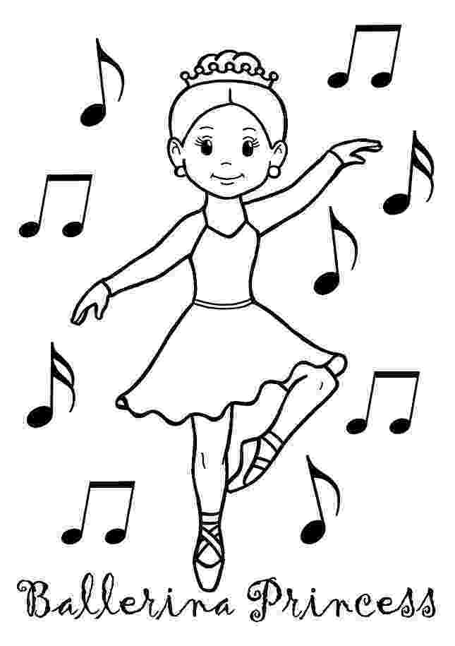 ballerina coloring pictures printable ballet coloring pages for kids cool2bkids coloring ballerina pictures