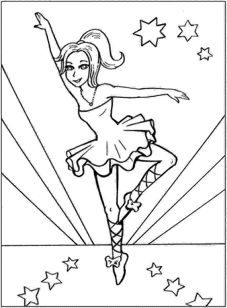 ballerina colouring pictures ballerina coloring pages for childrens printable for free colouring ballerina pictures