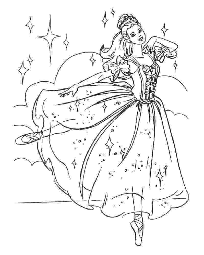 ballerina colouring pictures ballet coloring pages at getdrawingscom free for colouring ballerina pictures