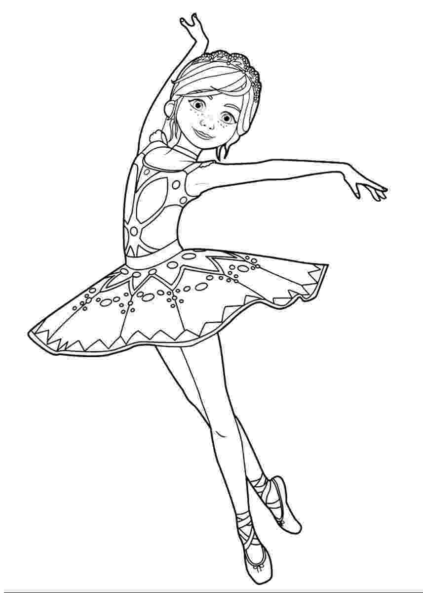 ballerina colouring pictures camille le haut and félicie milliner from leap coloring colouring pictures ballerina