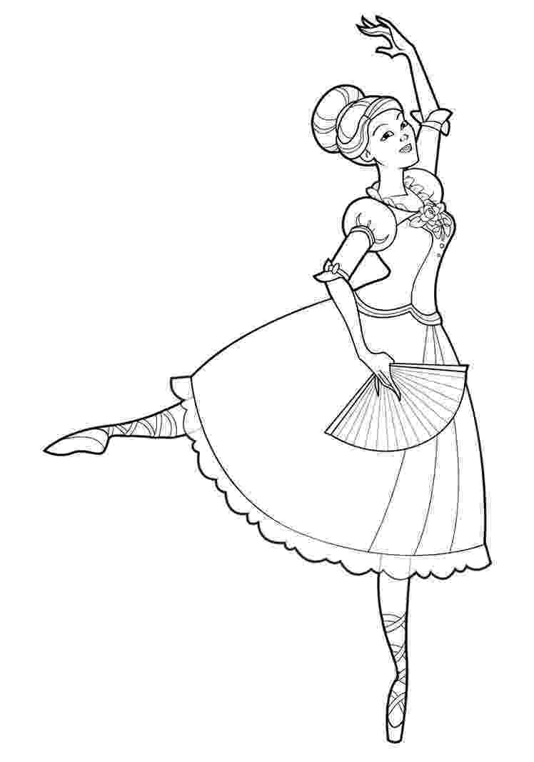 ballet colouring pictures printable ballet coloring pages for kids cool2bkids pictures ballet colouring