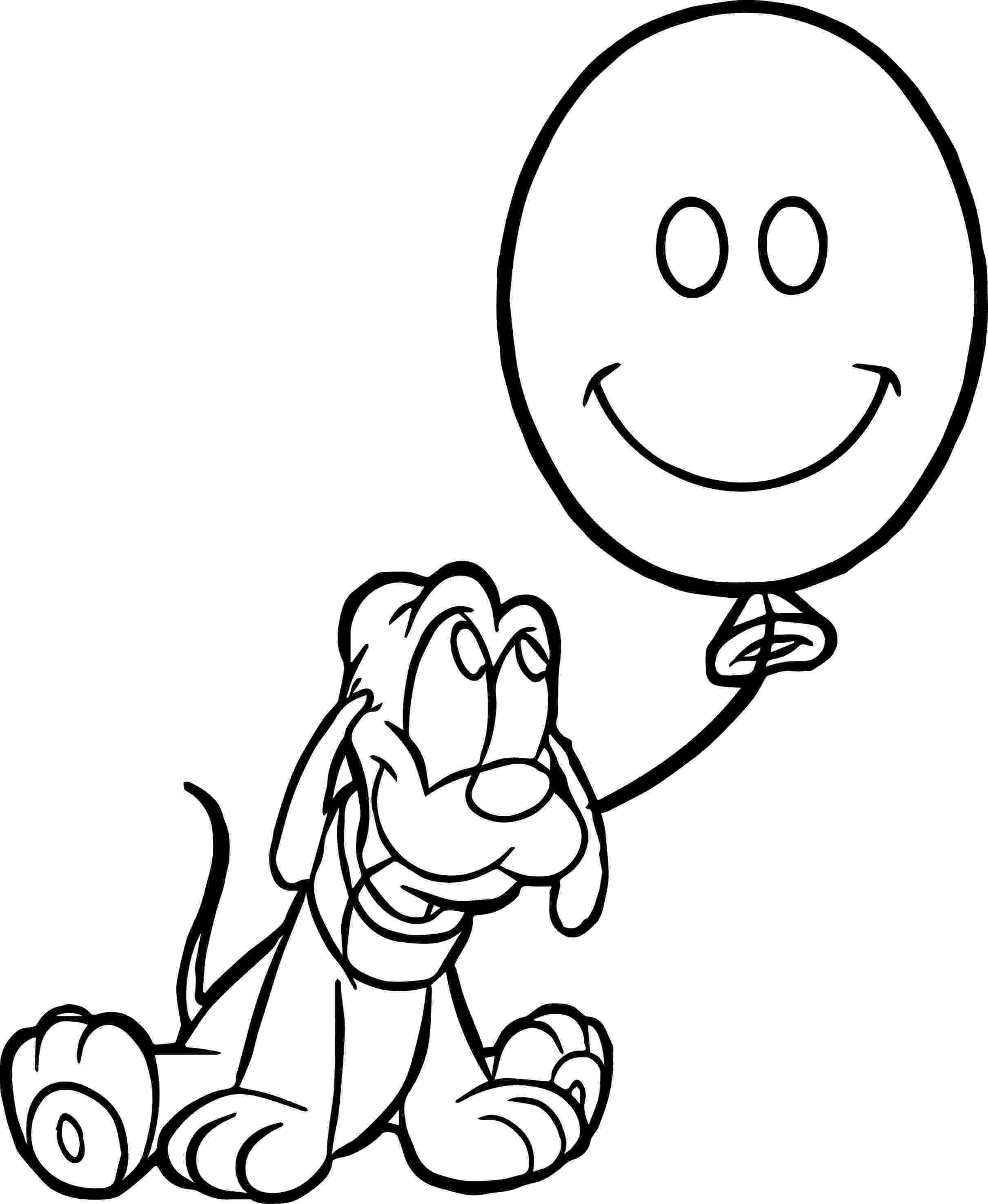balloon coloring page balloon outline coloring home page coloring balloon
