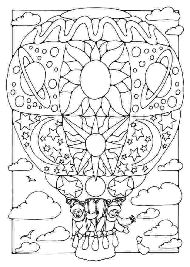 balloon coloring page items similar to printable hot air balloon coloring page page coloring balloon