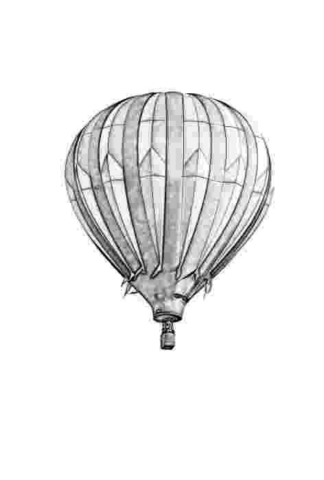 balloon sketch balloon outline clipartsco balloon sketch