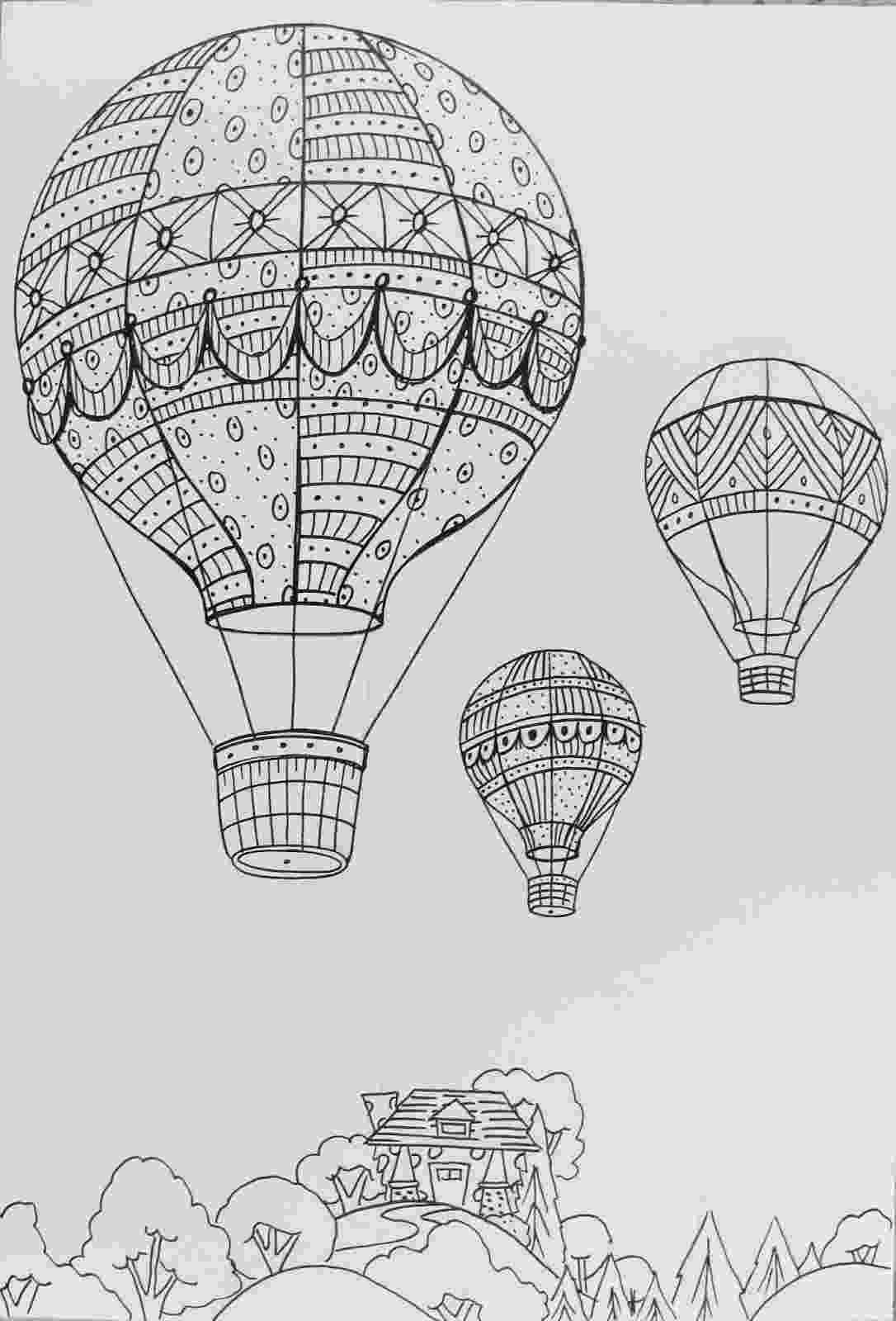 balloon sketch balloons sketch balloon sketch