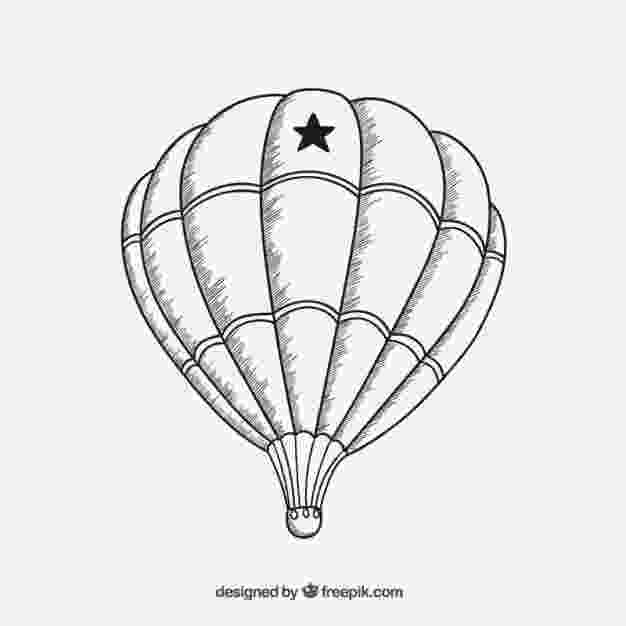 balloon sketch simple balloons line art stock illustration illustration balloon sketch
