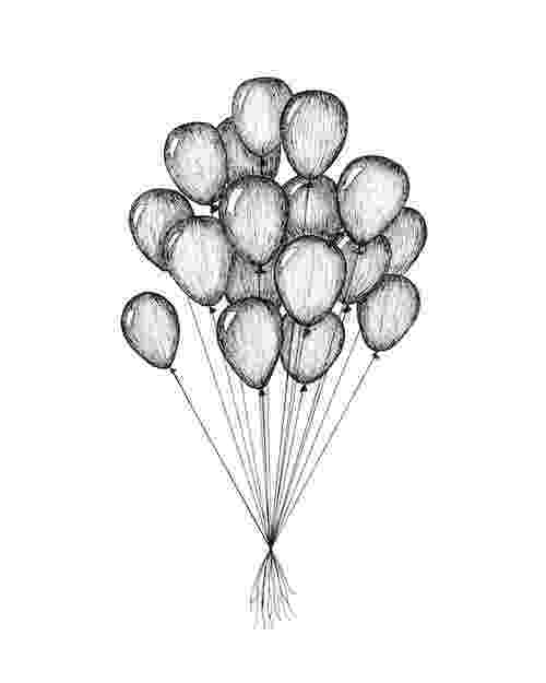 balloon sketch simple drawings template 16 free pdf documents download balloon sketch