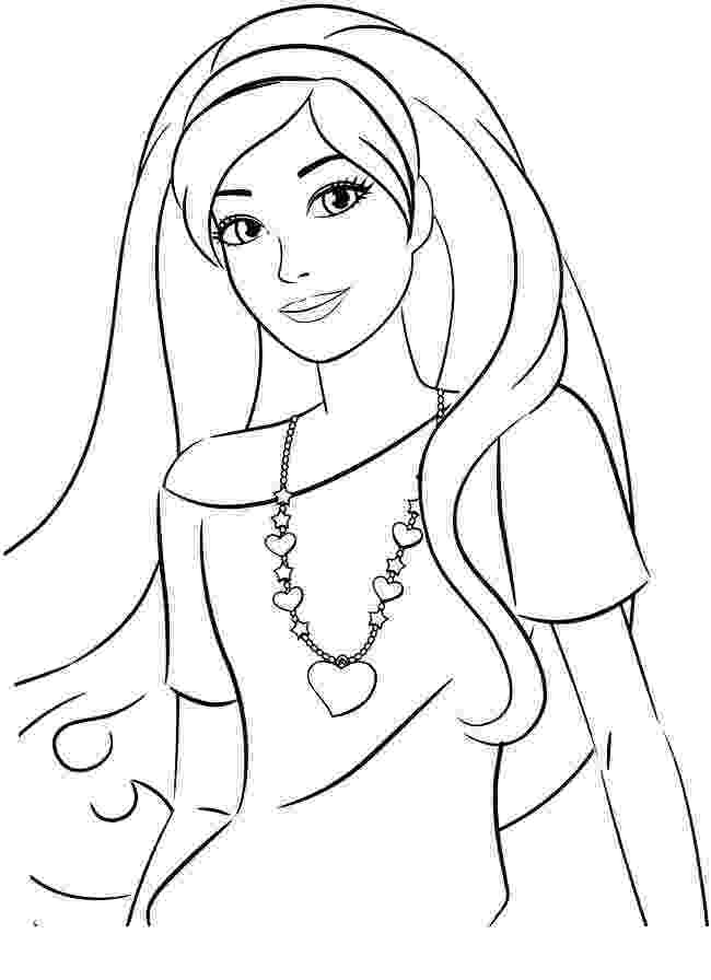 barbie doll pictures to color 1000 images about coloriage barbie on pinterest barbie to barbie doll color pictures