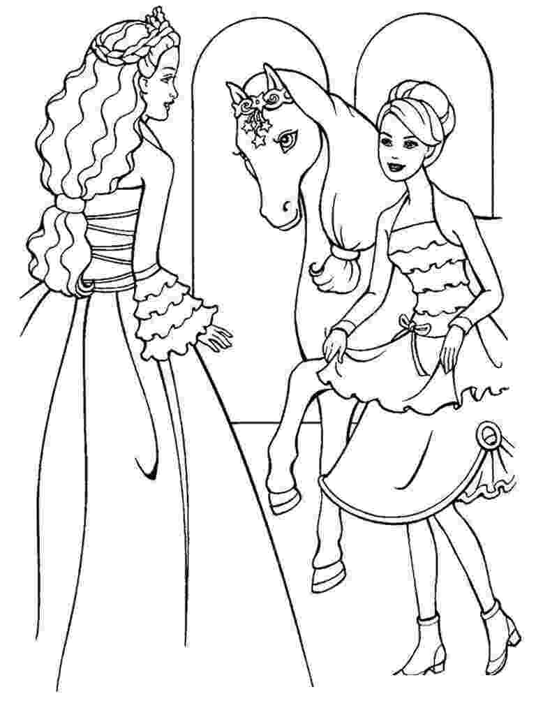 barbie doll pictures to color barbie coloring pages doll pictures to barbie color