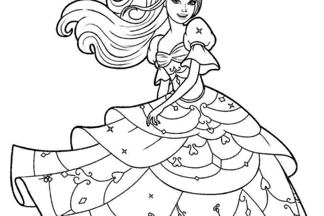 barbie doll pictures to color barbie doll coloring pages beautiful barbie clipart pictures color to barbie doll