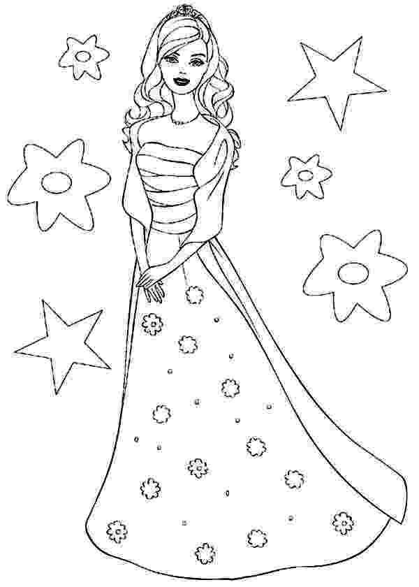 barbie doll pictures to color barbie doll the princess charm school coloring page doll barbie to pictures color
