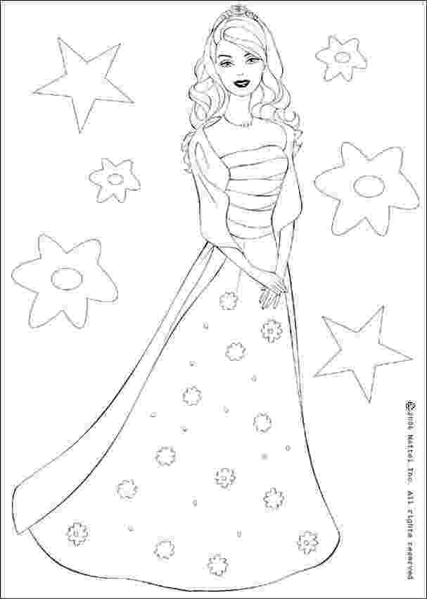 barbie doll pictures to color barbie the star coloring pages hellokidscom barbie doll color to pictures