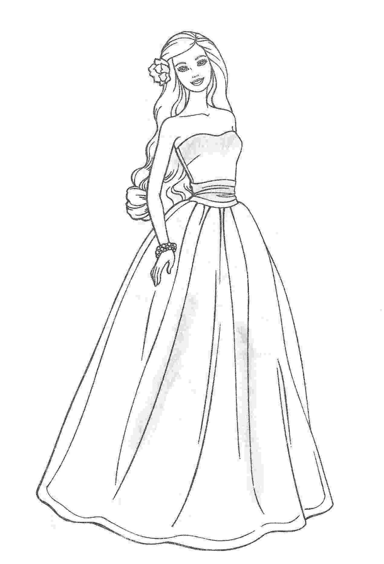 barbie doll pictures to color coloring pages barbie free printable coloring pages barbie color to pictures doll