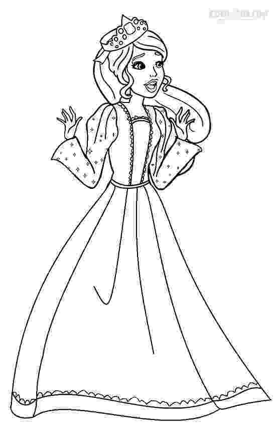 barbie princess coloring book printable barbie princess coloring pages for kids cool2bkids princess book coloring barbie