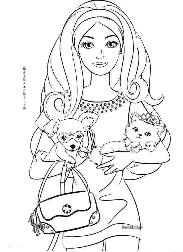 barbie print out coloring pages barbie and ken coloring pages getcoloringpagescom out coloring pages print barbie