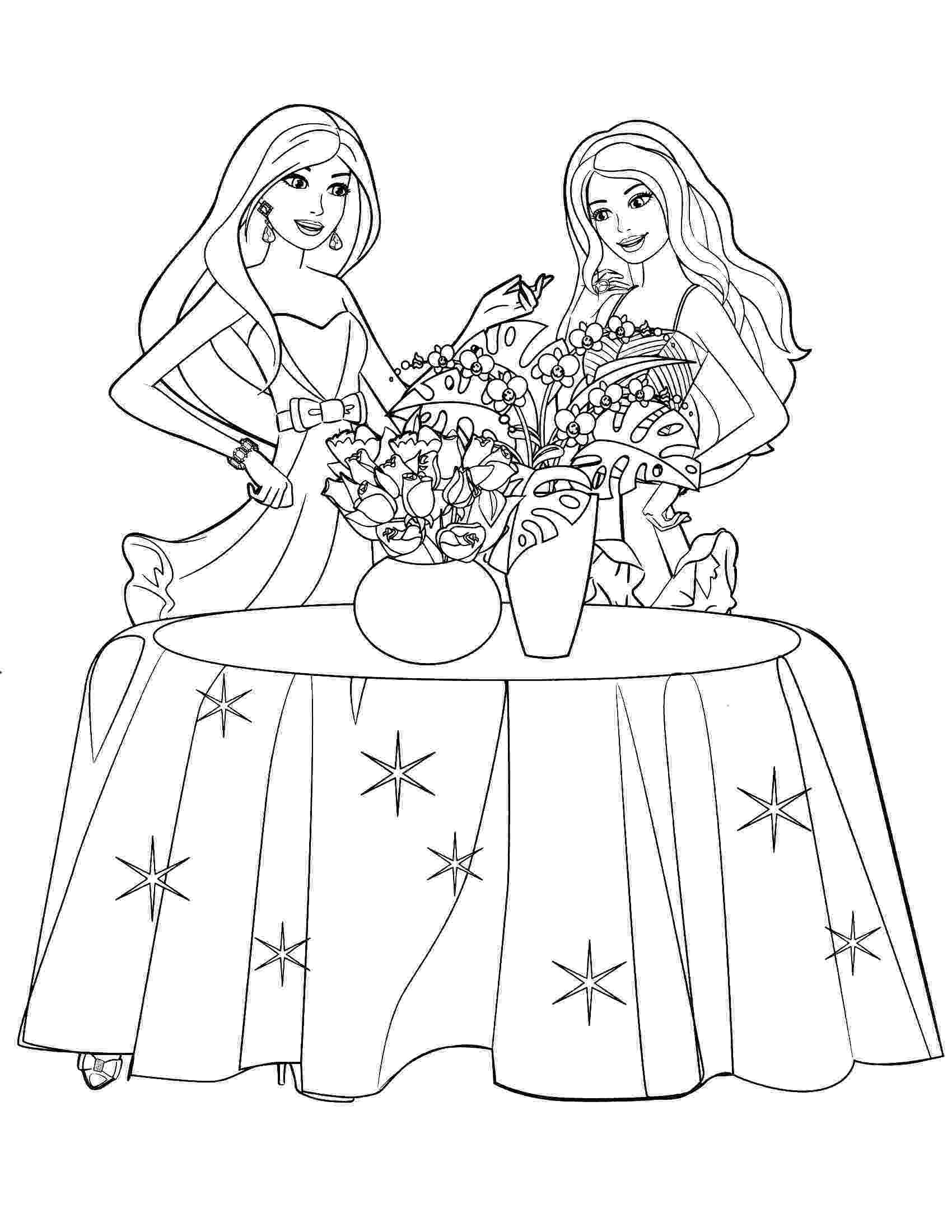 barbie print out coloring pages barbie princess coloring pages fantasy coloring pages pages coloring print out barbie