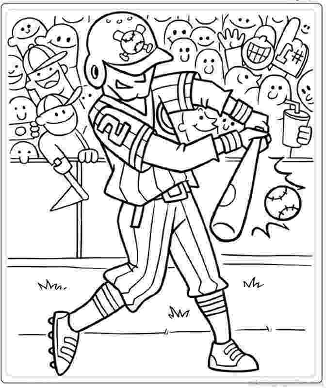 baseball coloring sheet free printable softball coloring pages coloring home coloring baseball sheet