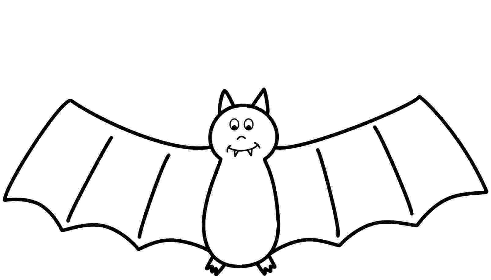bat color page bat coloring pages getcoloringpagescom color page bat 1 1
