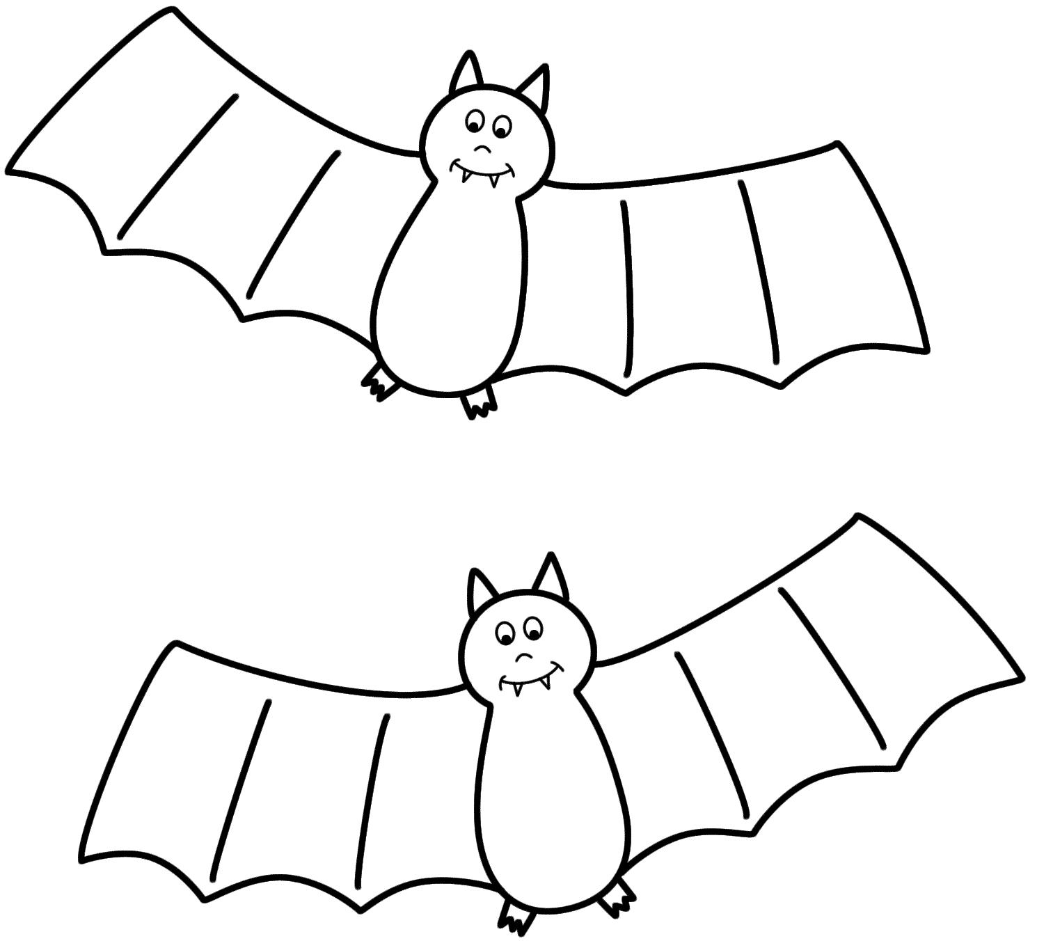 bat color page free printable bat coloring pages for kids bat color page