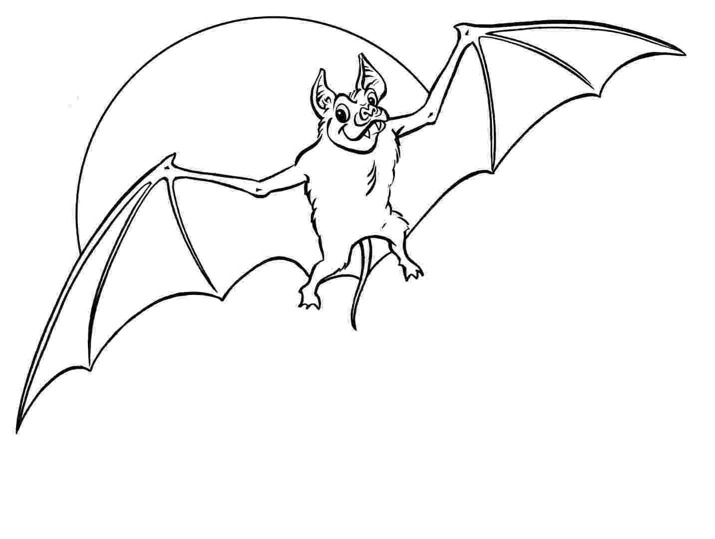 bat color page free printable bat coloring pages for kids bat page color
