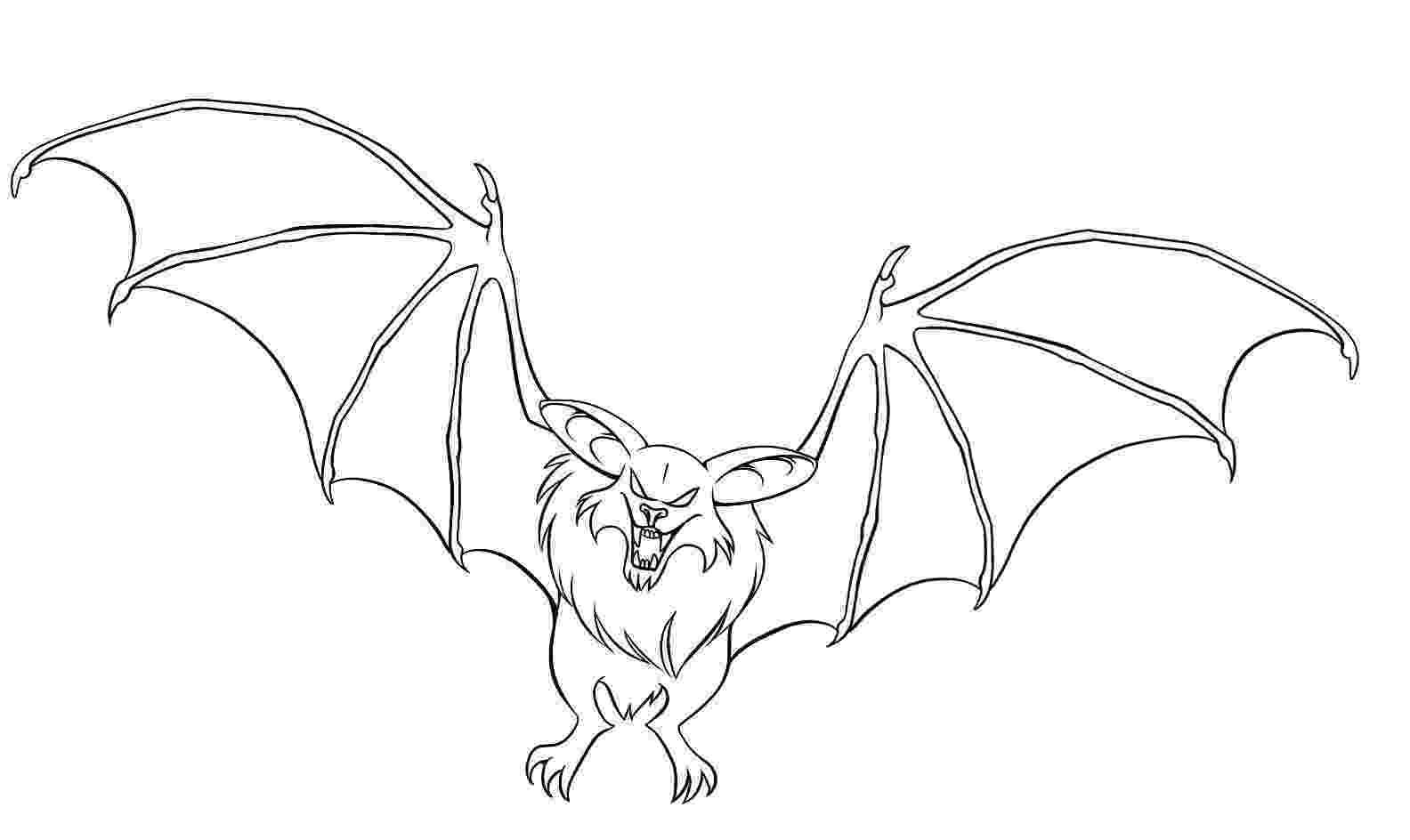 bat color page free printable bat coloring pages for kids color page bat