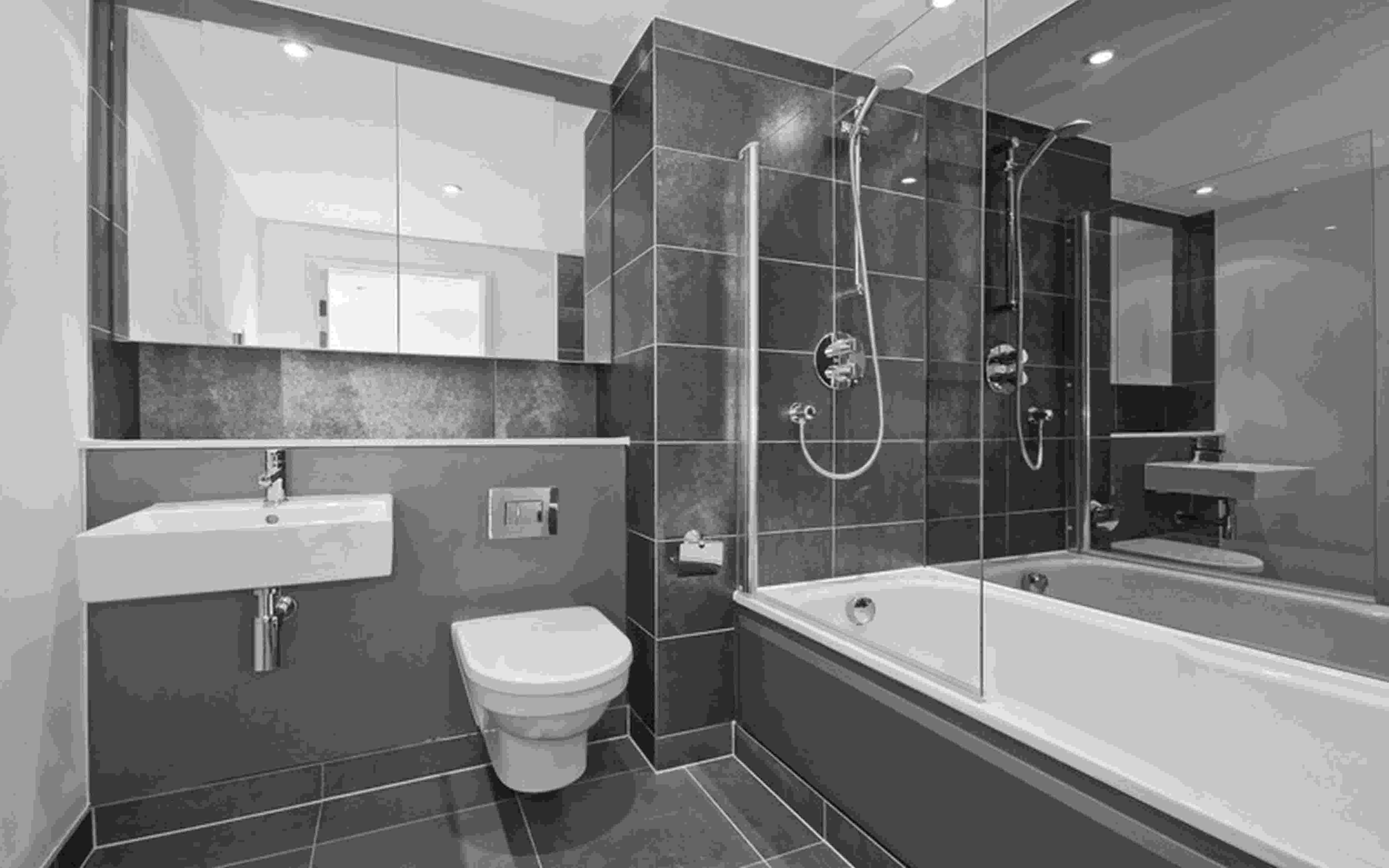 bathroom colours ideas designs 10 gorgeous bathrooms with black tile bathroom colours ideas designs