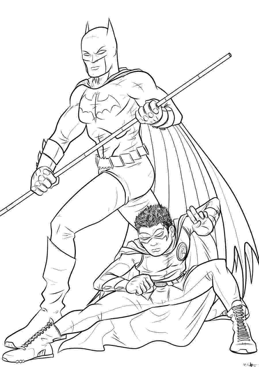 batman and robin coloring page batman and robin coloring pages to download and print for free and coloring page robin batman