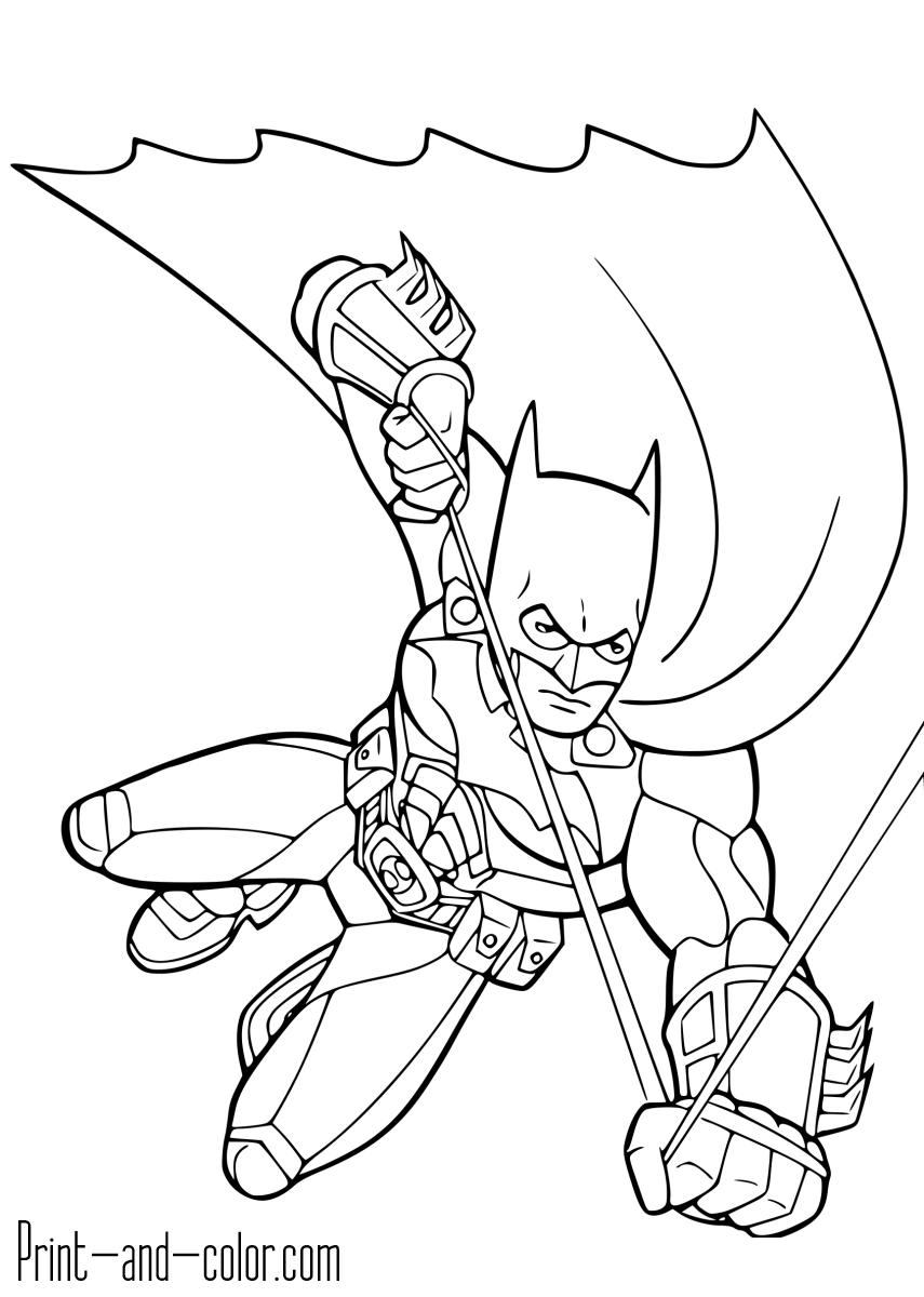batman color page batman coloring pages learn to coloring batman color page