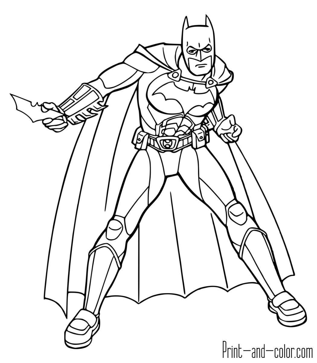 batman color page batman coloring pages print and colorcom color batman page