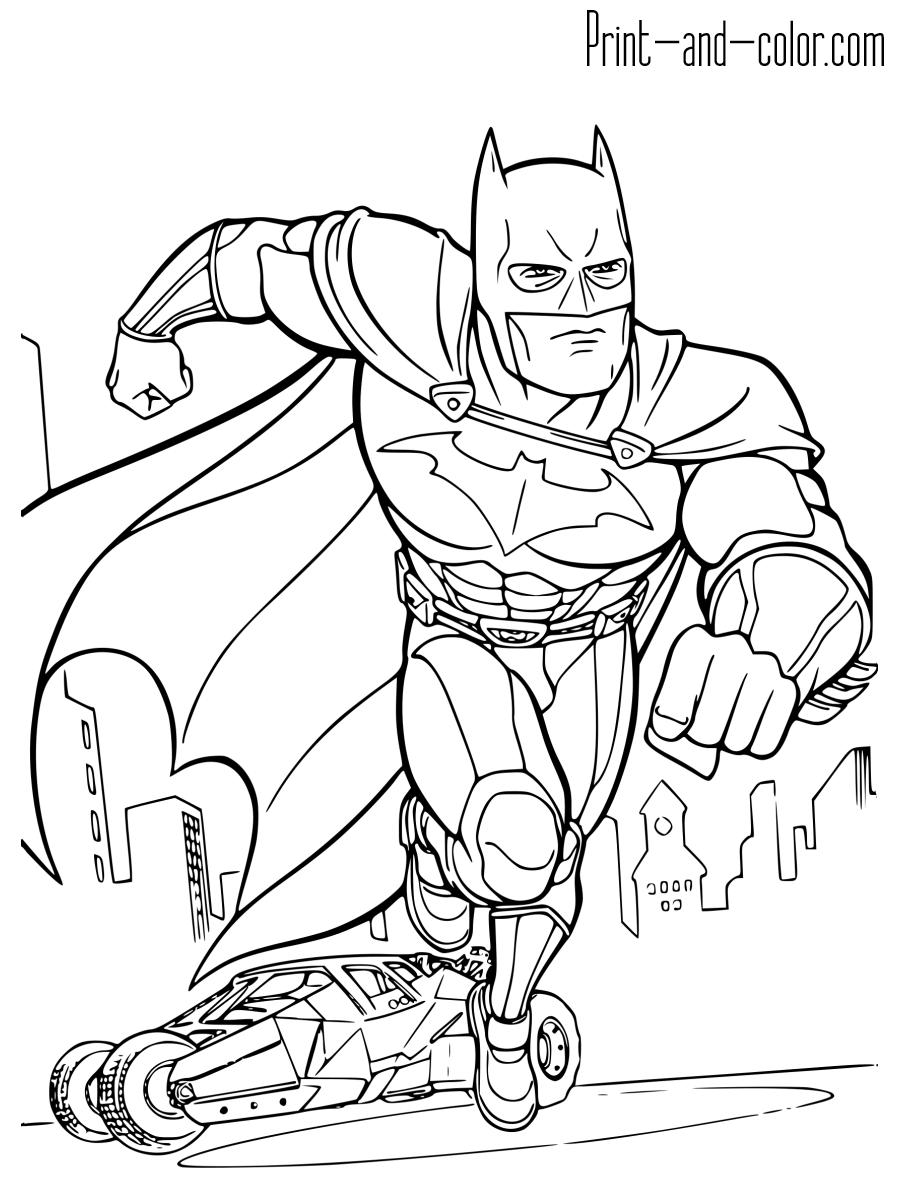 batman color page batman coloring pages super coloring book color batman page