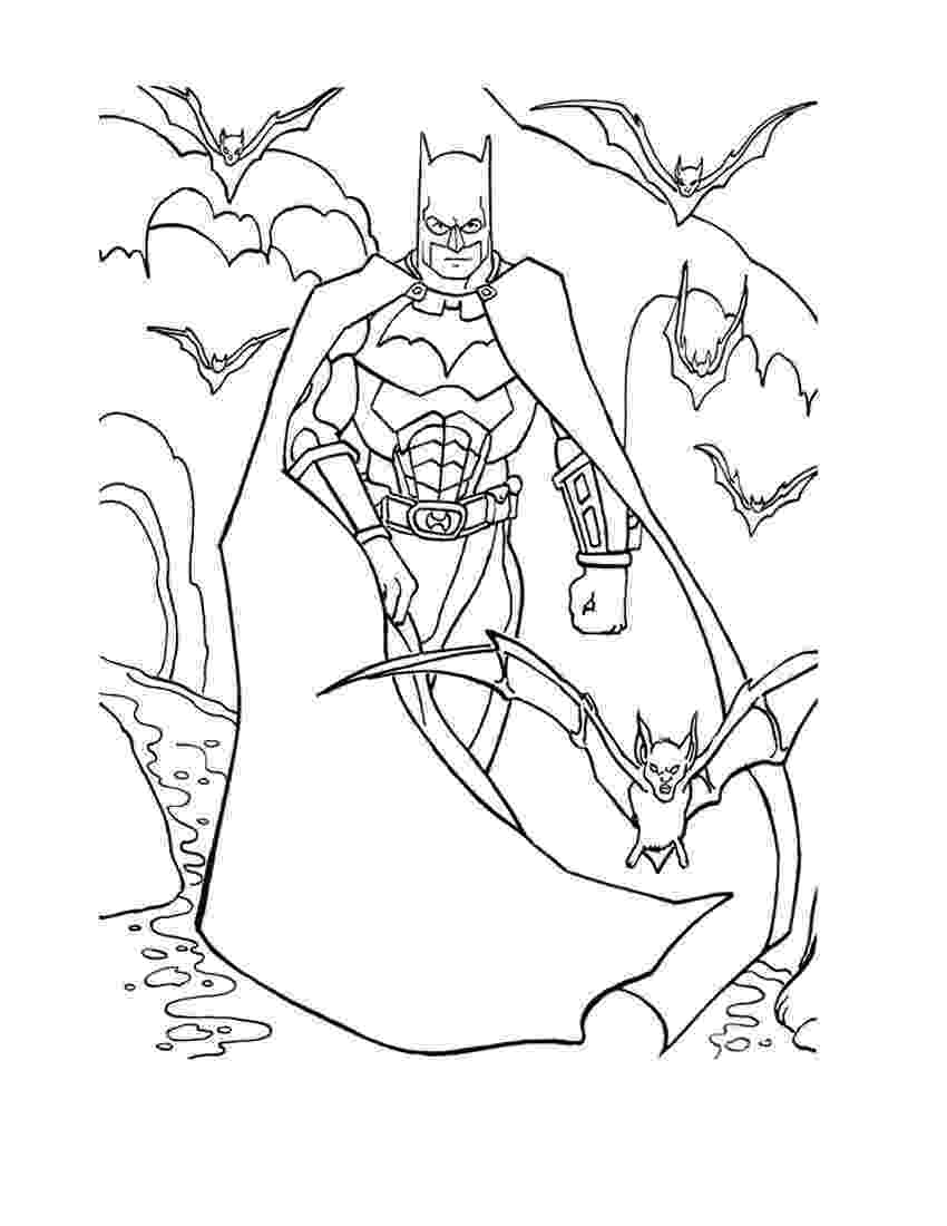 batman color page free printable batman coloring pages for kids cool2bkids color batman page