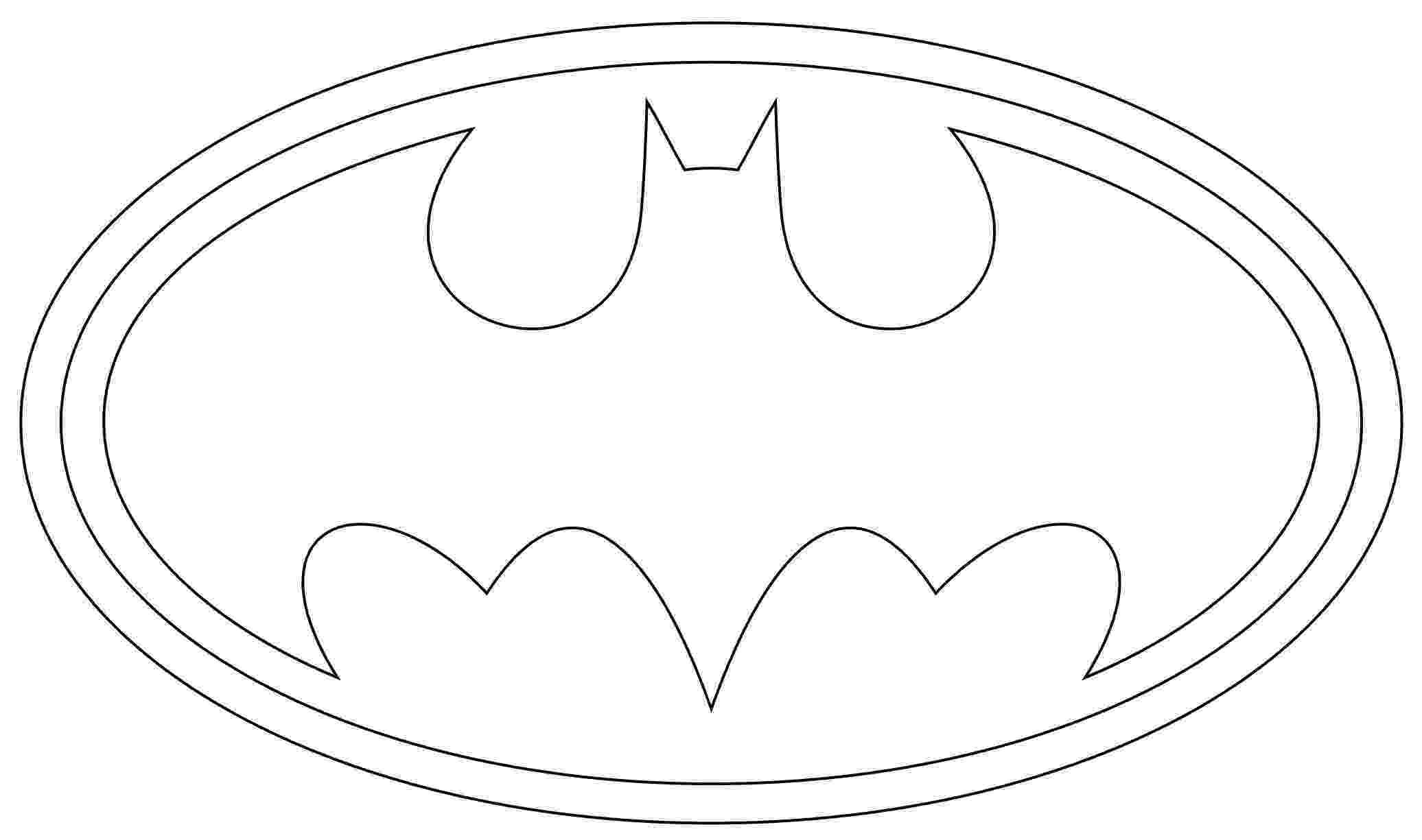 batman template bat symbol stencil clipartsco batman template