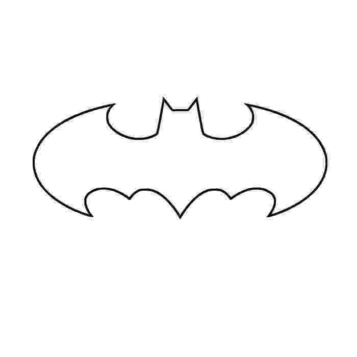 batman template batman symbol printable free printable batman coloring template batman