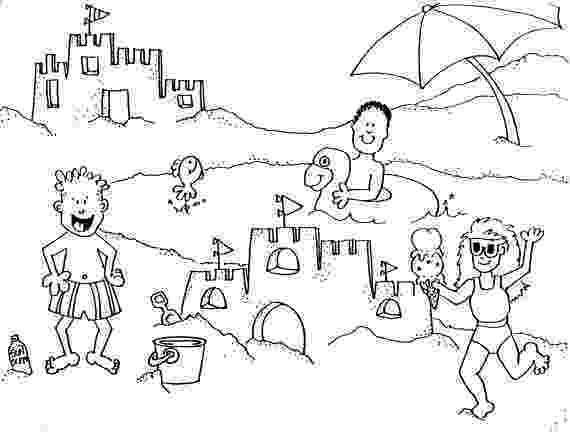 beach coloring page 25 free printable beach coloring pages beach coloring page