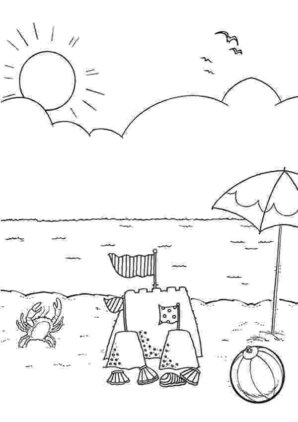 beach coloring page 25 free printable beach coloring pages coloring beach page