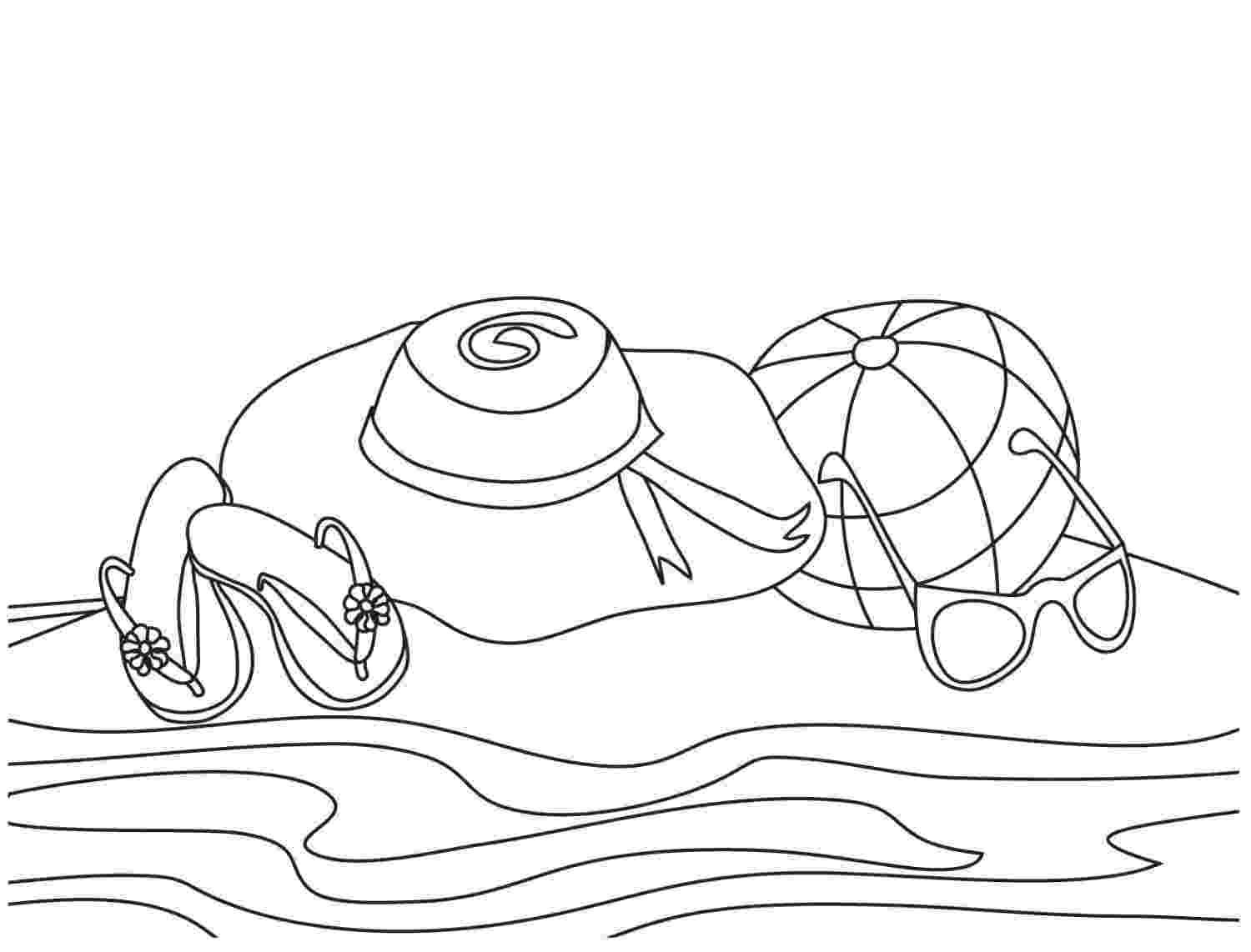 beach coloring page beach coloring pages doodle art alley beach coloring page