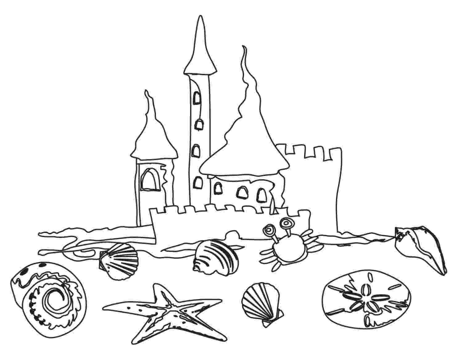 beach coloring page beach scene coloring pages getcoloringpagescom coloring beach page
