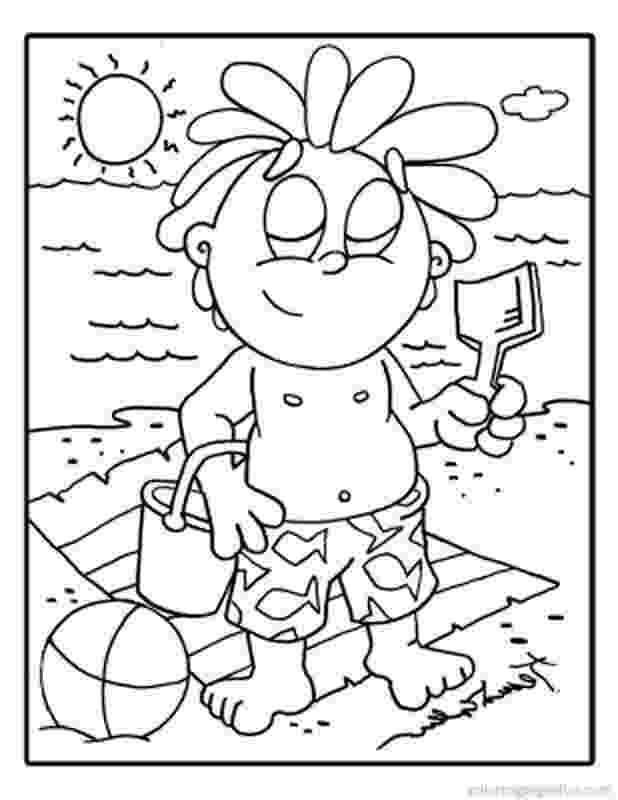 beach coloring page beach scene coloring pages getcoloringpagescom coloring beach page 1 1