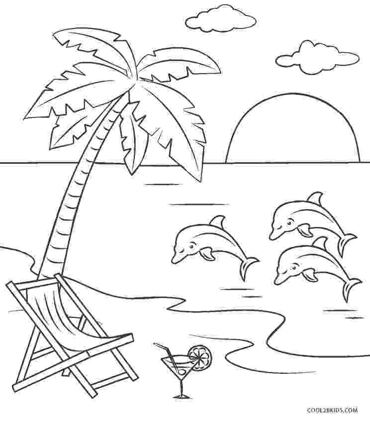 beach coloring page beach scene coloring pages getcoloringpagescom page coloring beach