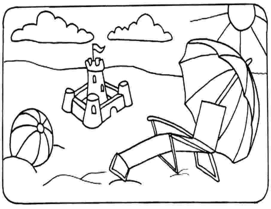 beach coloring page free printable beach coloring pages for kids beach page coloring