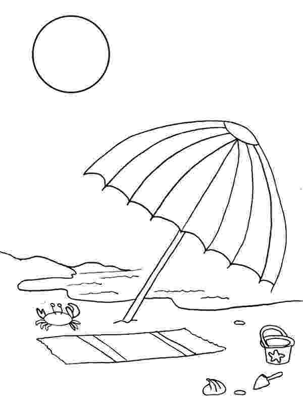 beach umbrella coloring page 1000 images about coloring pages on pinterest summer beach page umbrella coloring