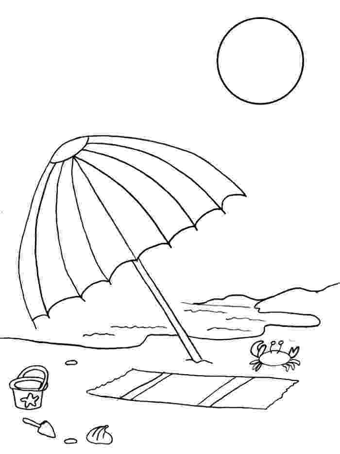 beach umbrella coloring page beach umbrella coloring page  free large images page umbrella beach coloring