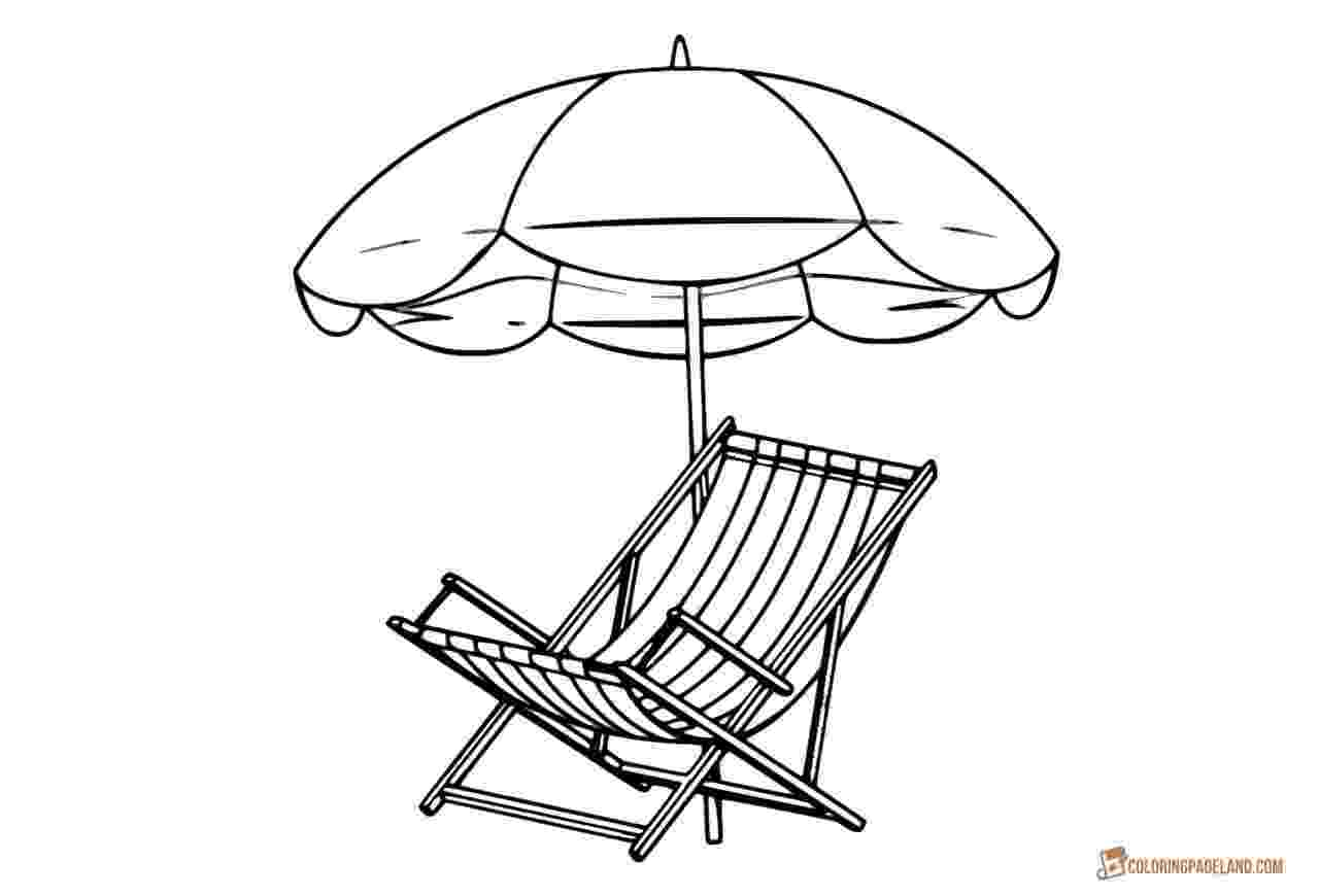 beach umbrella coloring page d lee jortner coloring page umbrella beach