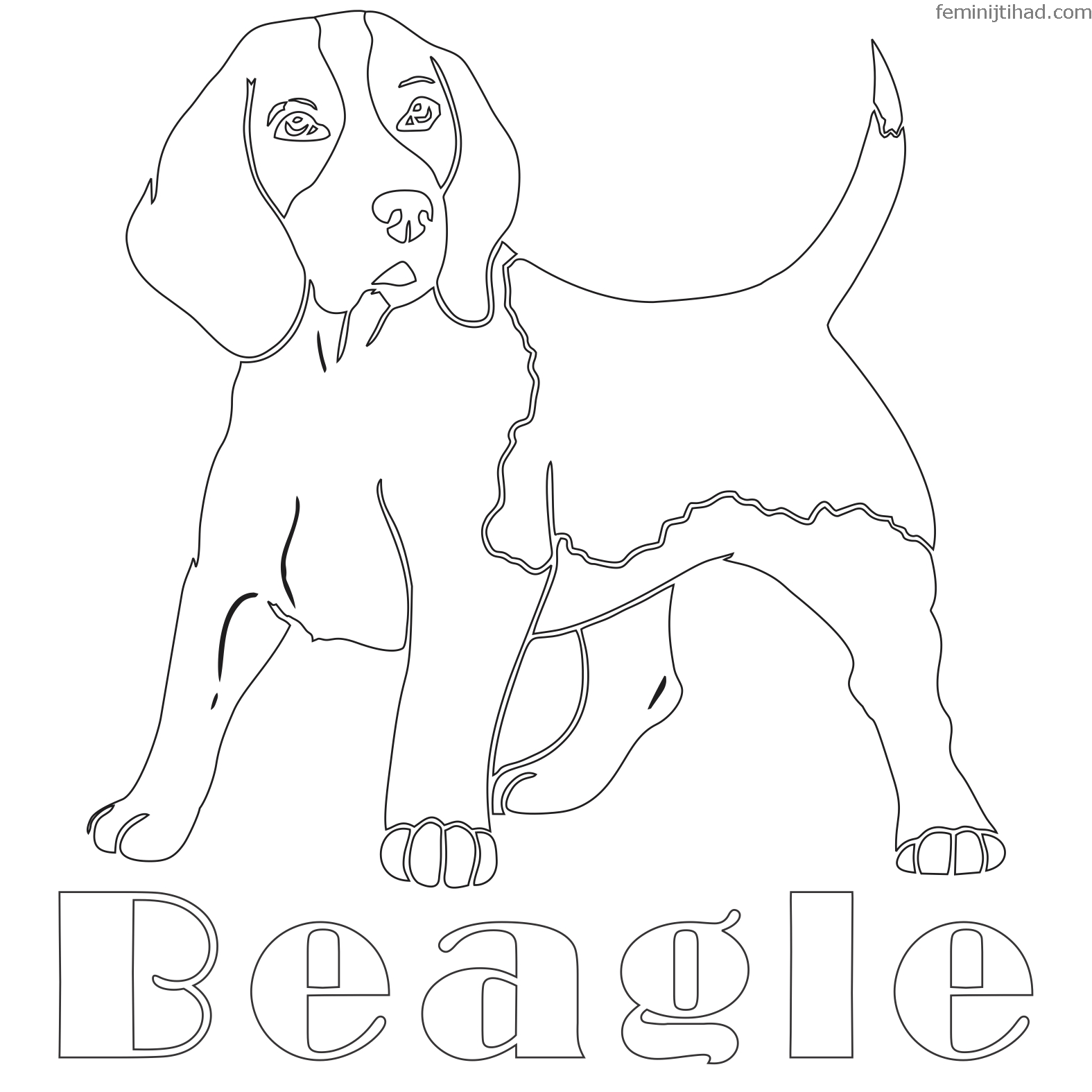 beagle coloring pages beagle coloring pages to download and print for free beagle coloring pages 1 1