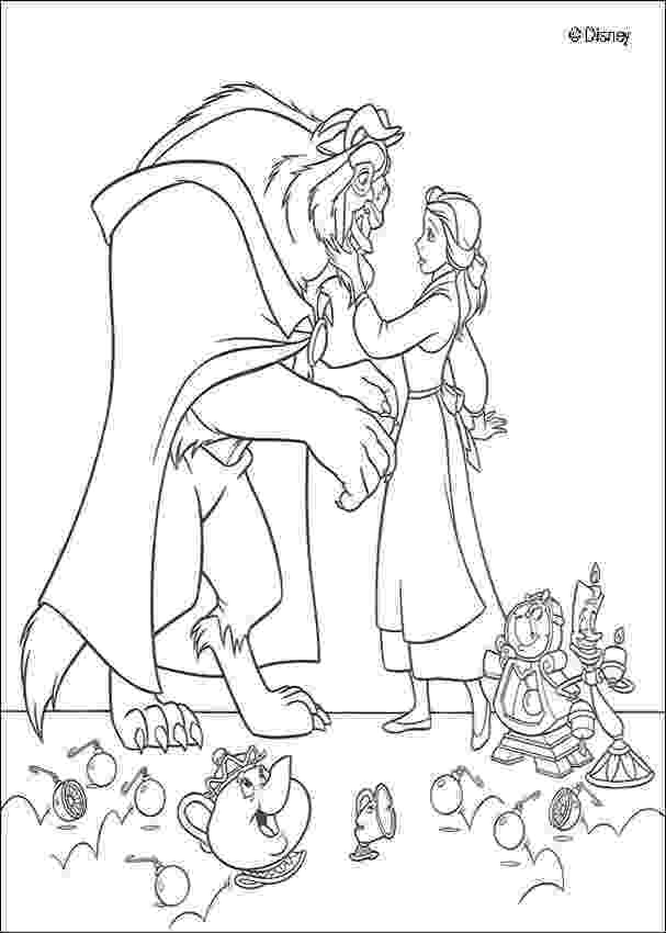 beauty and the beast coloring pages beauty and the beast coloring pages hellokidscom and pages beast coloring the beauty